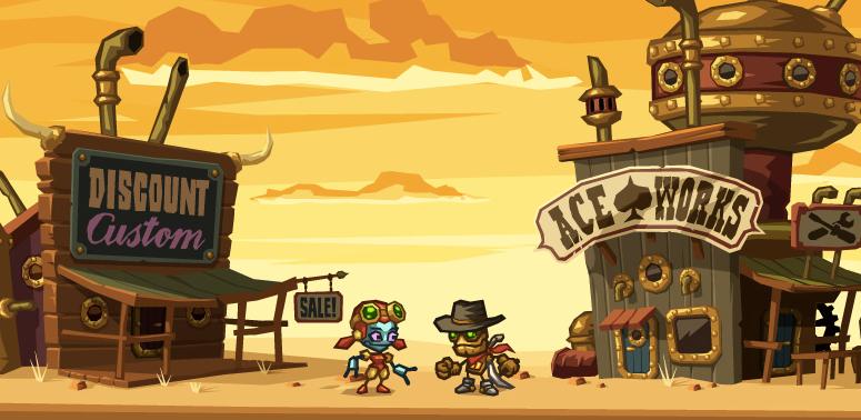 <i>SteamWorld Dig</i> rocks the 3DS eShop