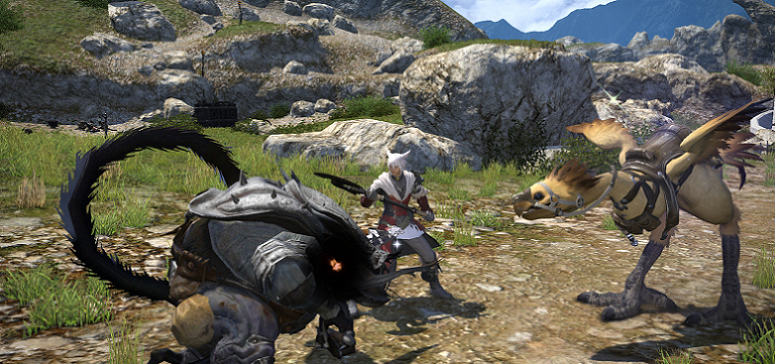 My first six hours with <i>Final Fantasy XIV: A Realm Reborn</i>