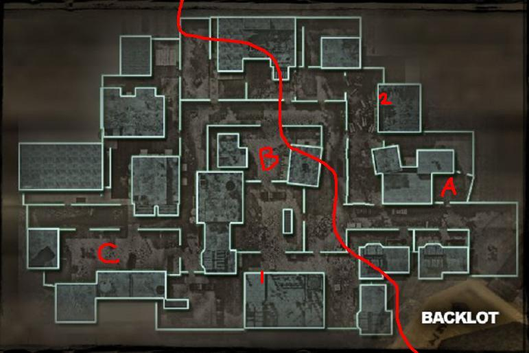 Call of Duty 4 Guide - Backlot