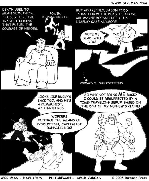 Death in Comics