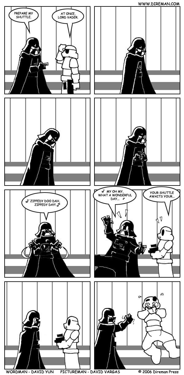 Zippedy Vader