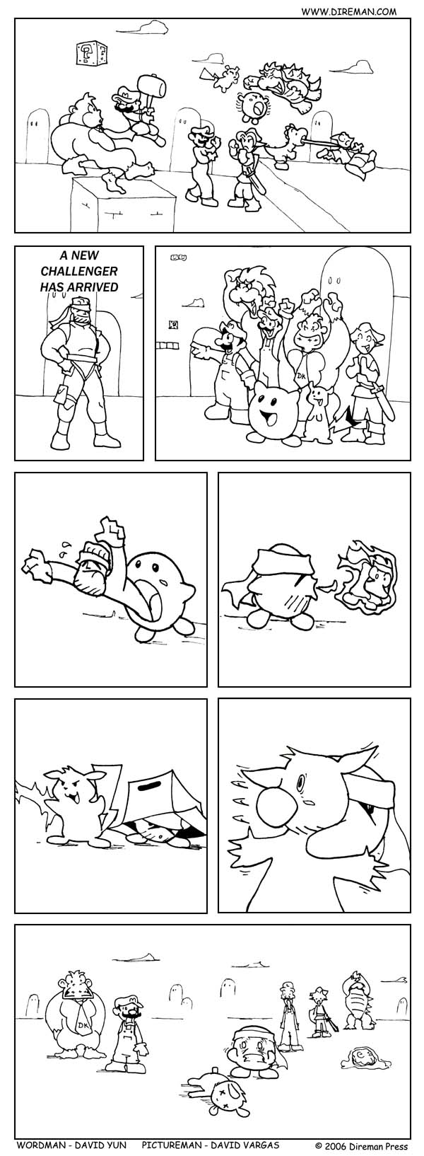 Super Smash Kirby Solid