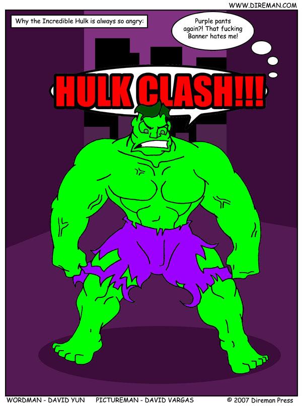 Hulk Clash!