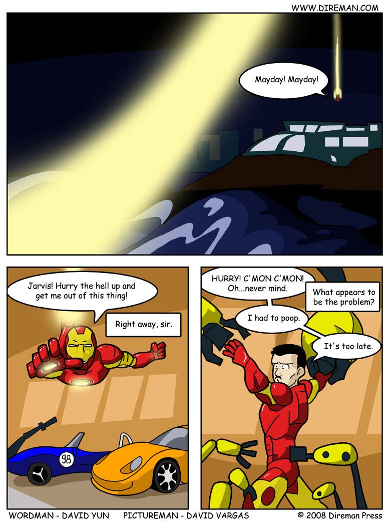 Iron Man Pit Stop