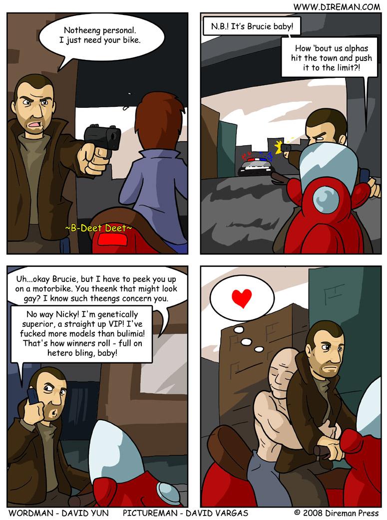 Grand Theft Hetero