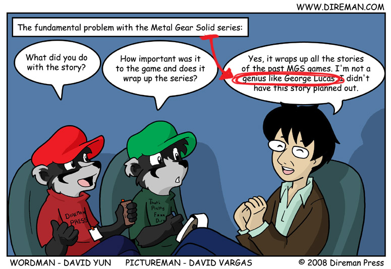 The Problem with Metal Gear Solid