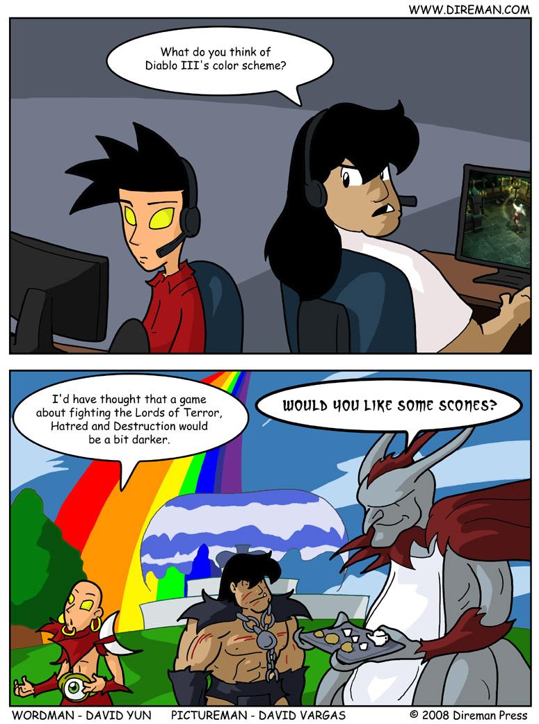 Technicolor Diablo III