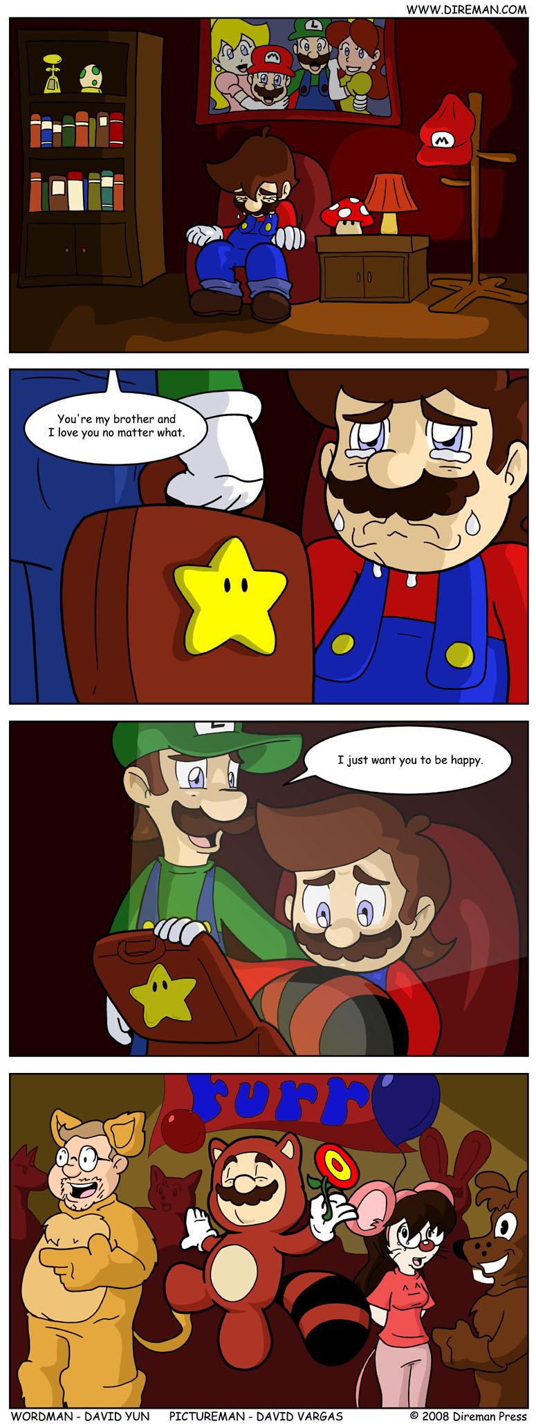Mario Furry