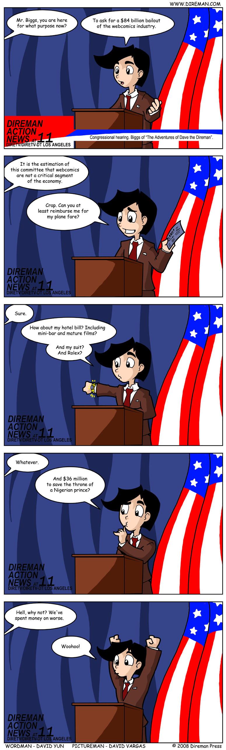 Webcomic Bailout