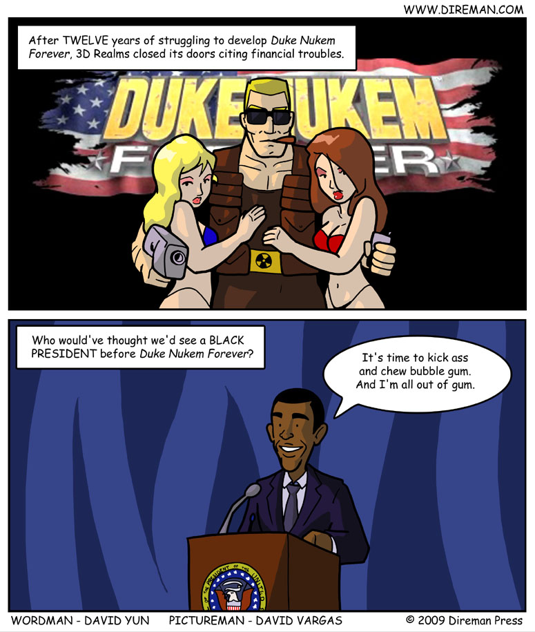 Duke Nukem Took Forever