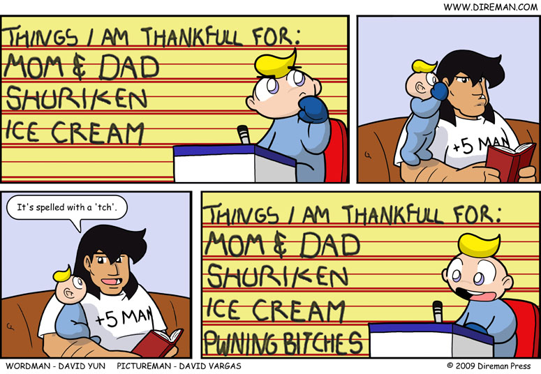 Thankful List