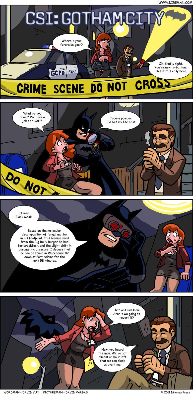 CSI: Gotham