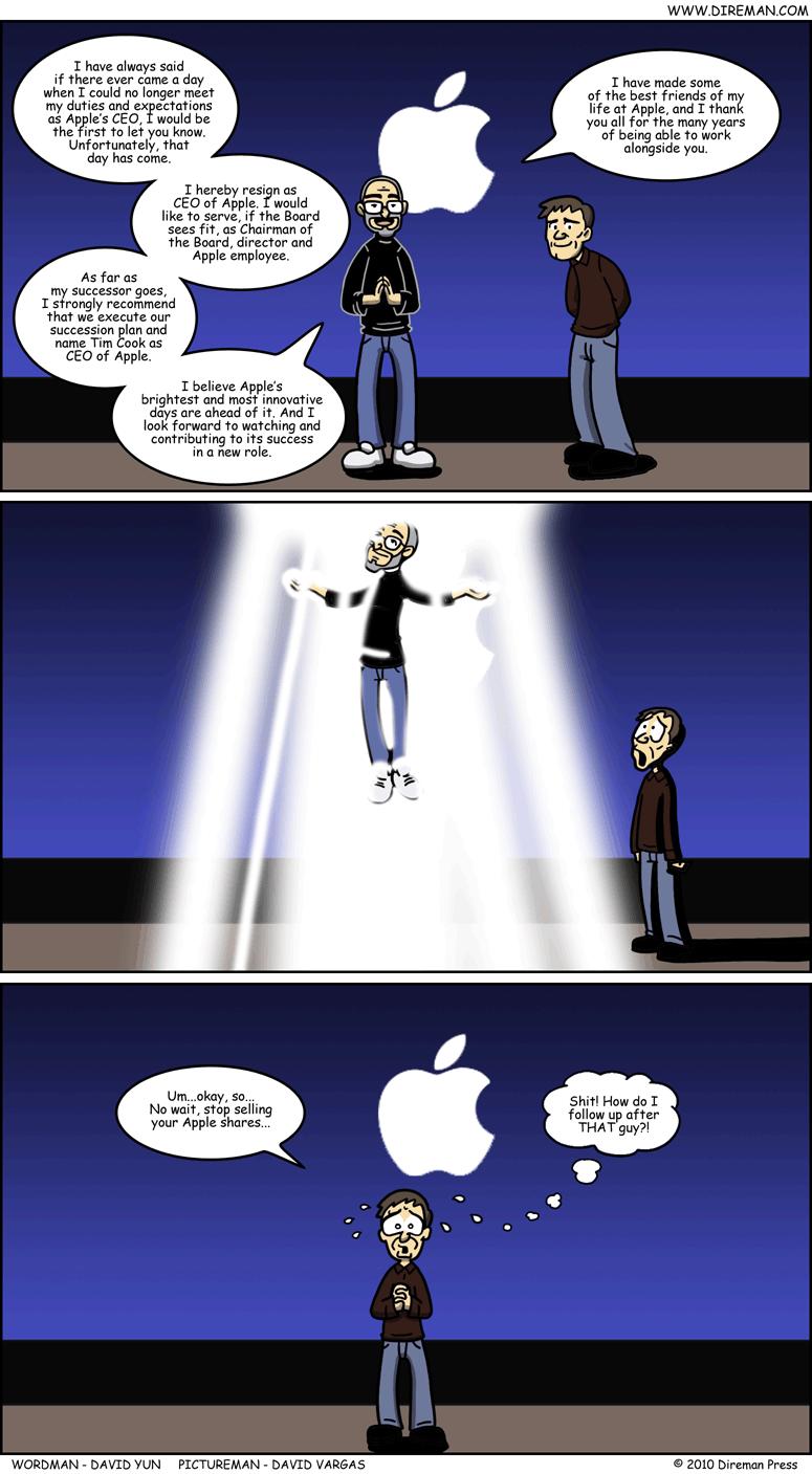 Steve Jobs Resignation