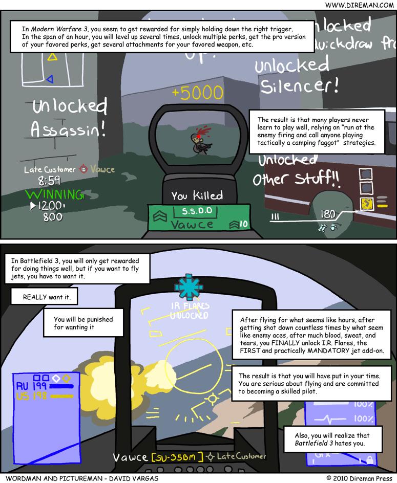 MW3 vs. BF3