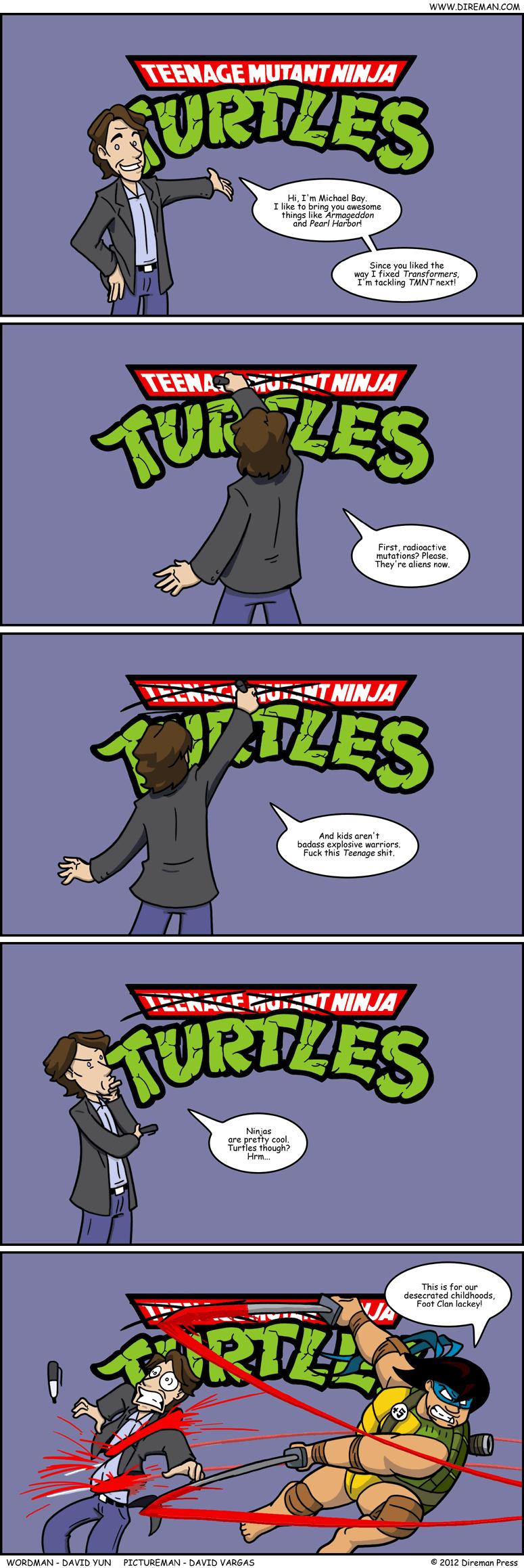X X Ninja Turtles