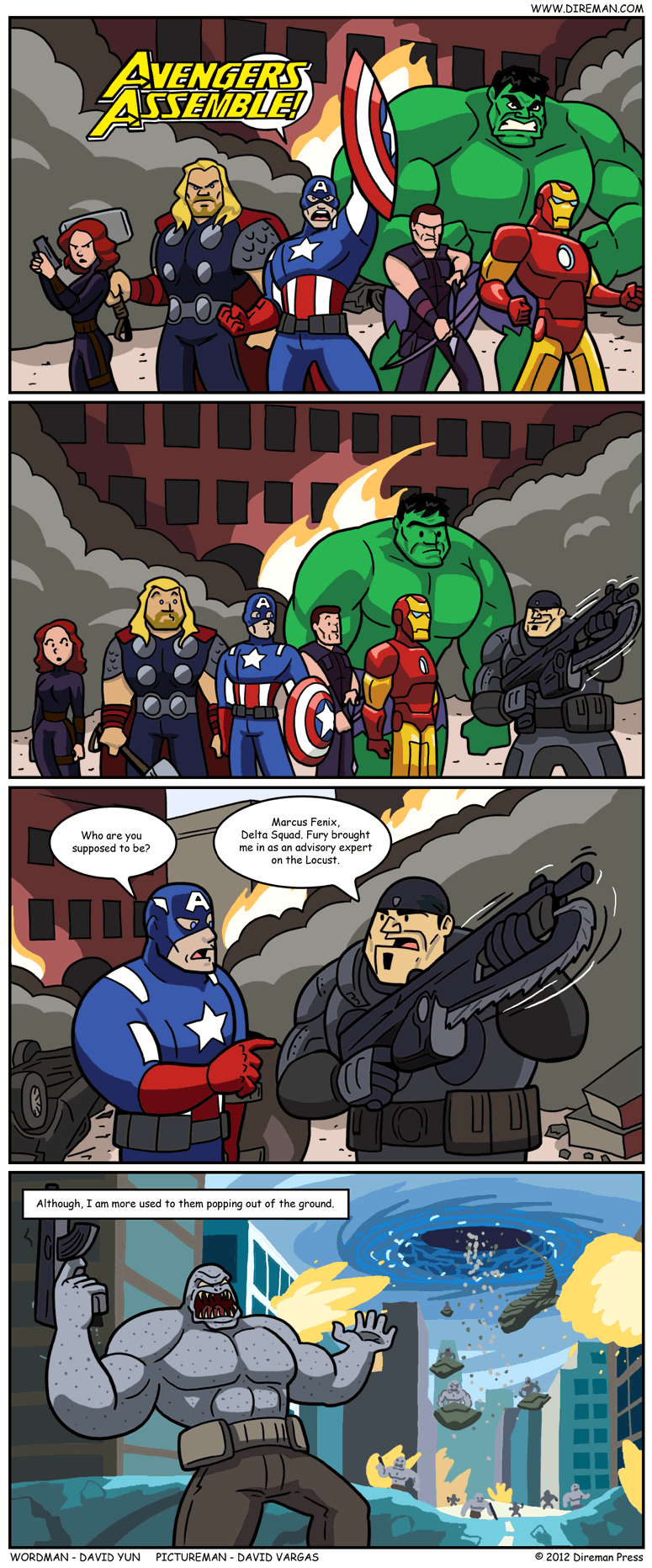 Avengers vs. Emergence Day