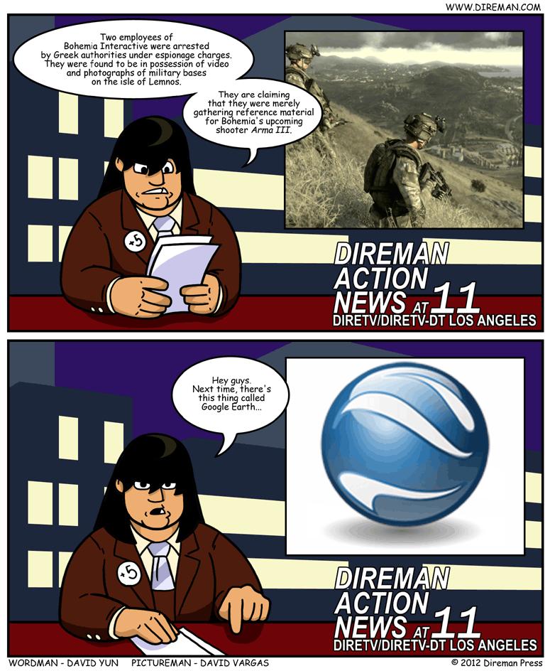 Gaming Espionage