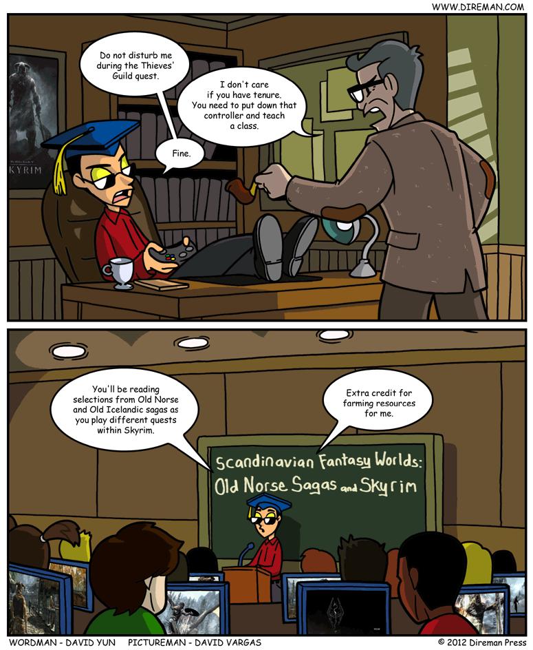 Skyrim Academia
