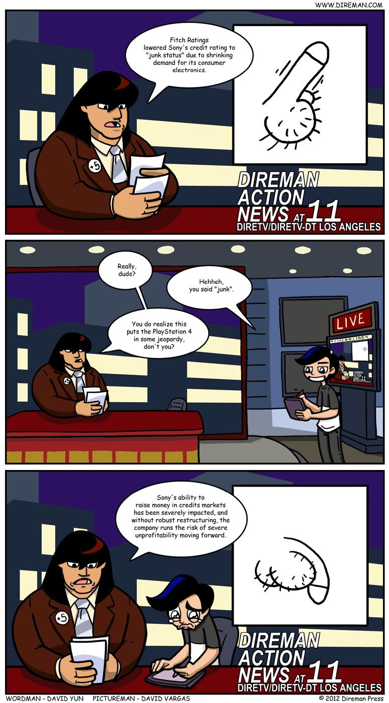 Sony Junk Credit