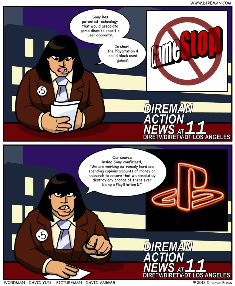 Blocking Used Games