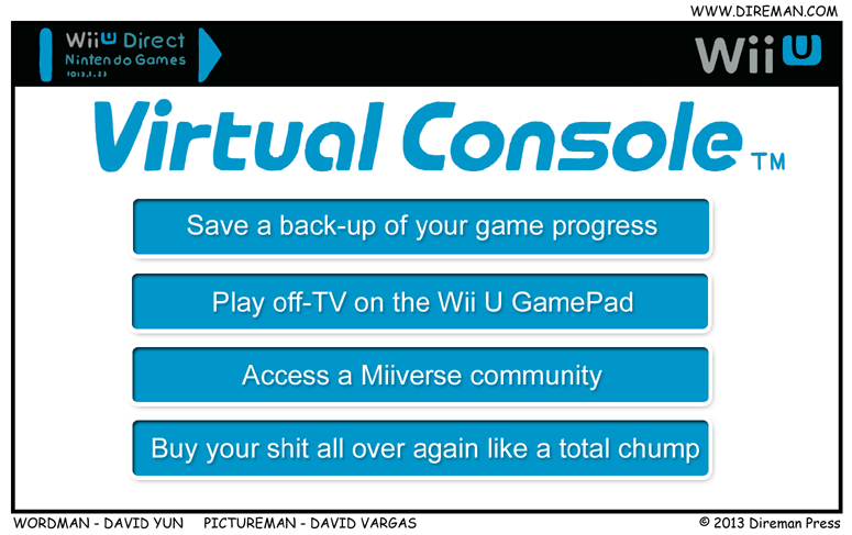 The New Virtual Console