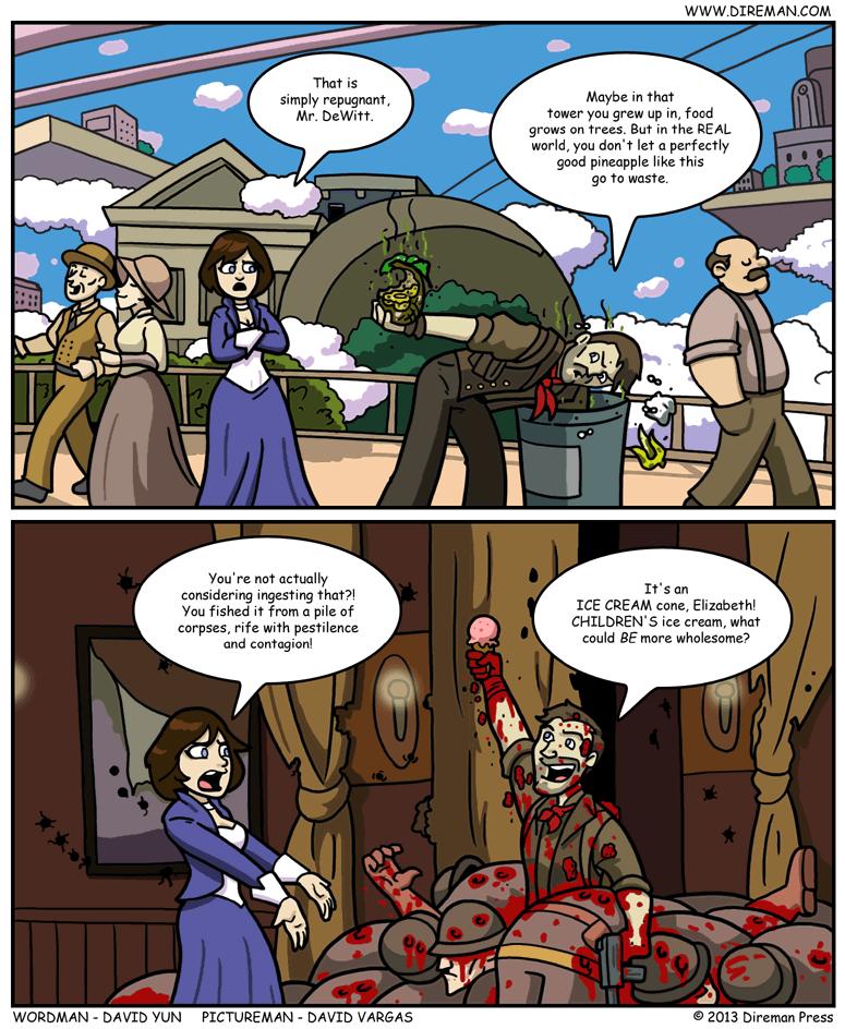 BioShock Infinite Scrounging