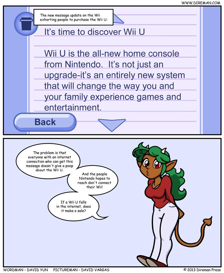Wii U Desperation