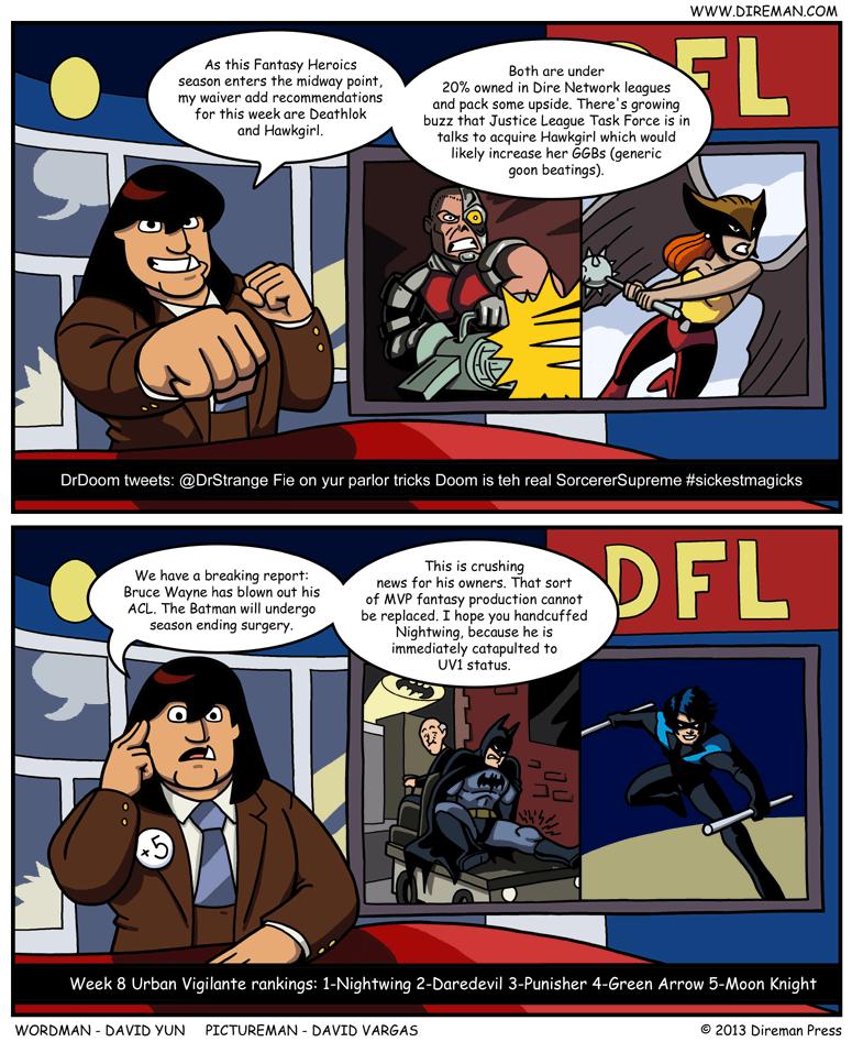 Fantasy Heroics League