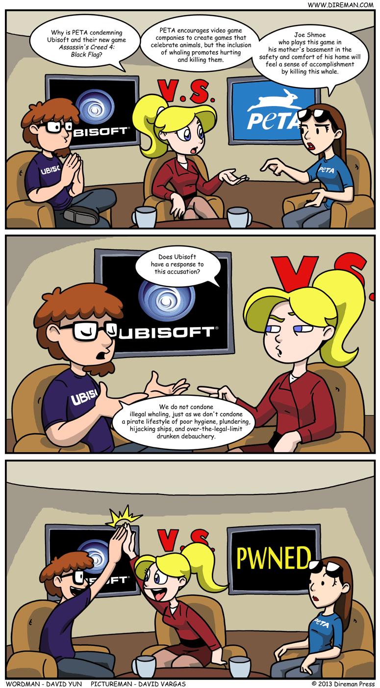 PETA vs. Ubisoft