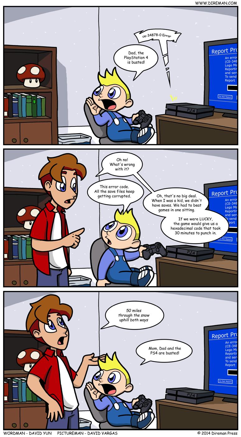 PlayStation 4 Error Code CE-34878-0