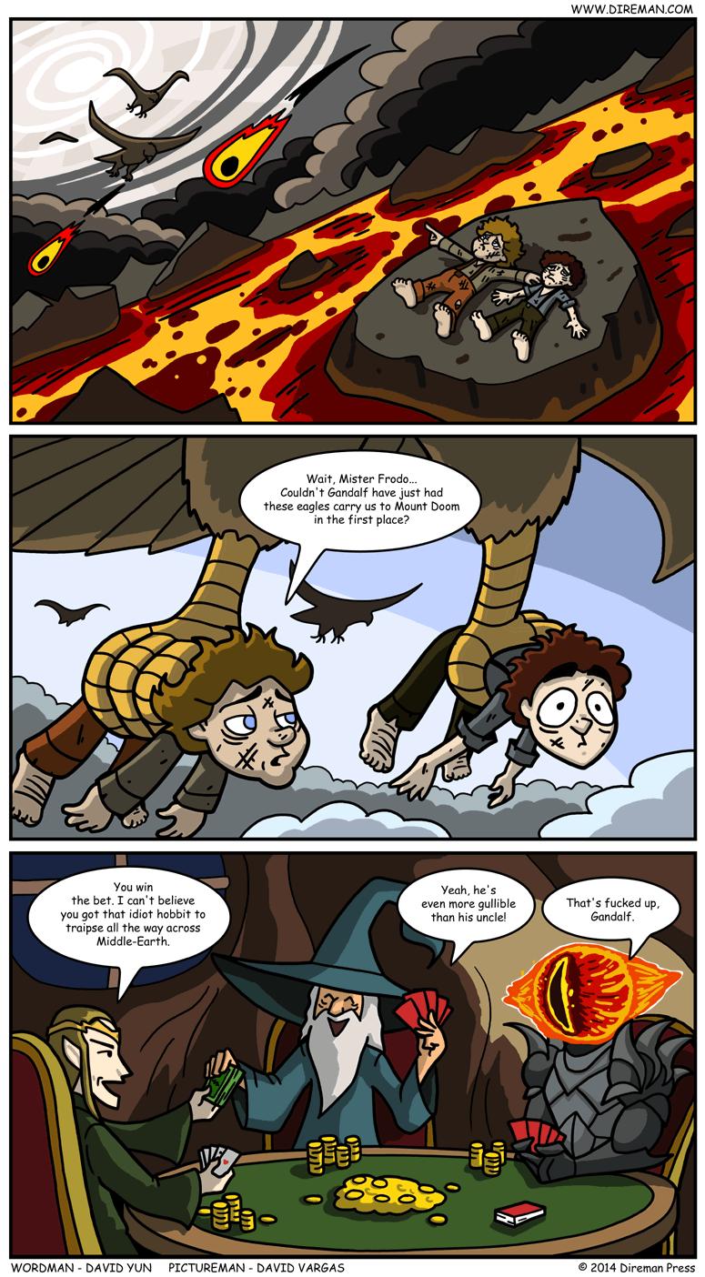 Gandalf Prank