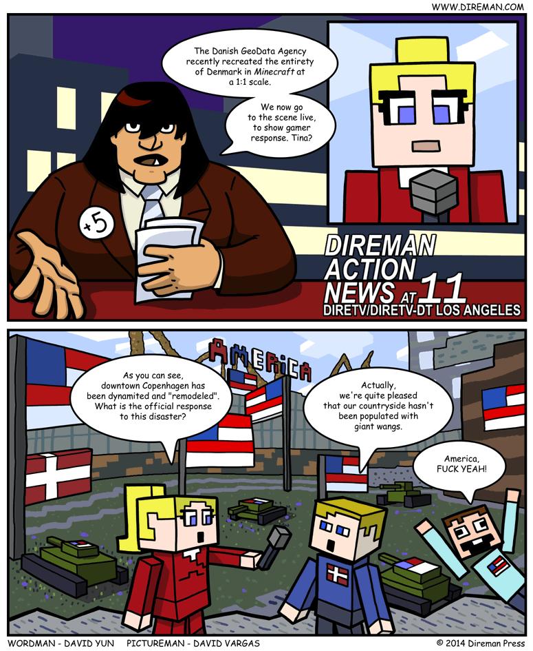 Minecraft Denmark