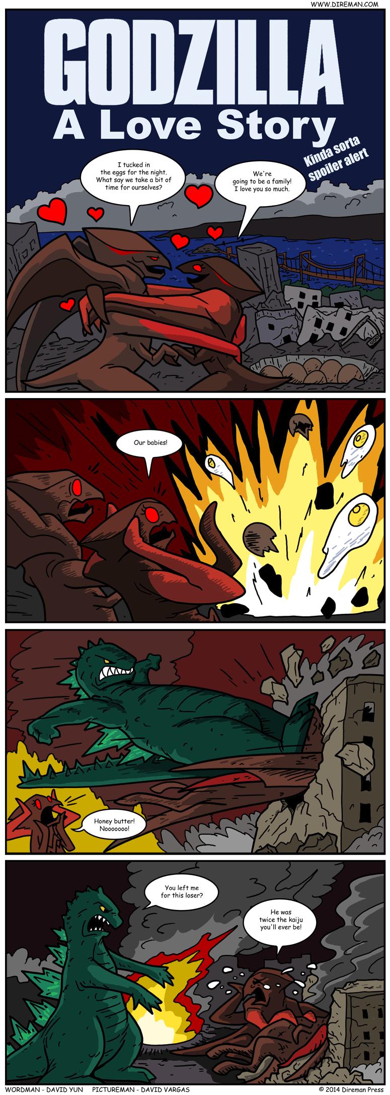 Godzilla: A Love Story