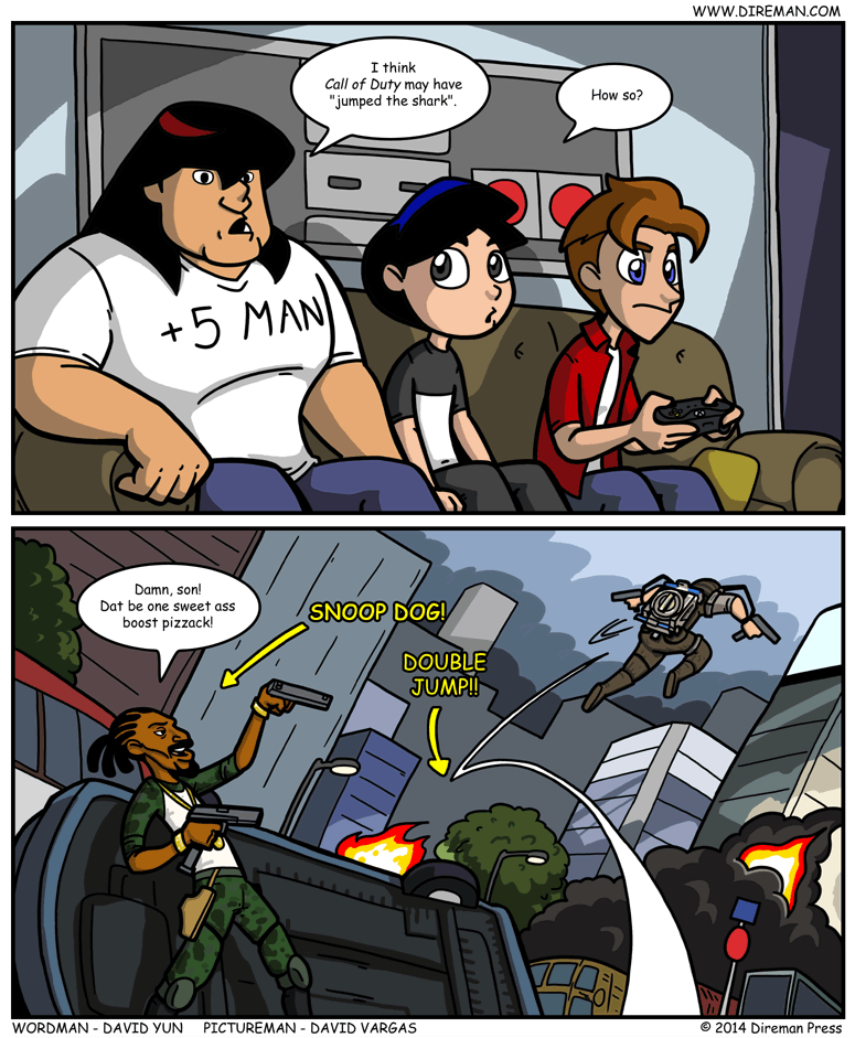 Call of Duty Jump the Shark