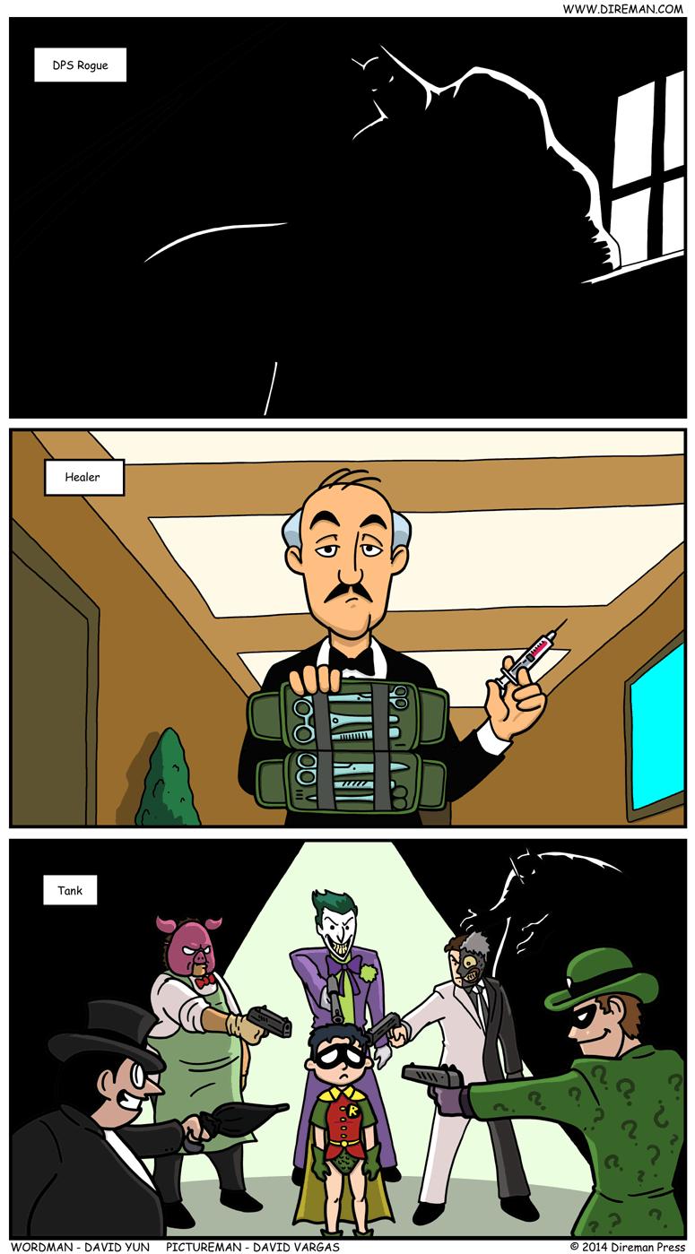 Batman Tactics