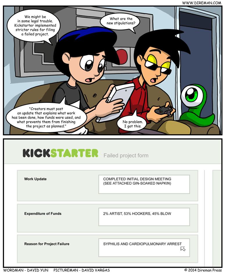 Stricter Kickstarter