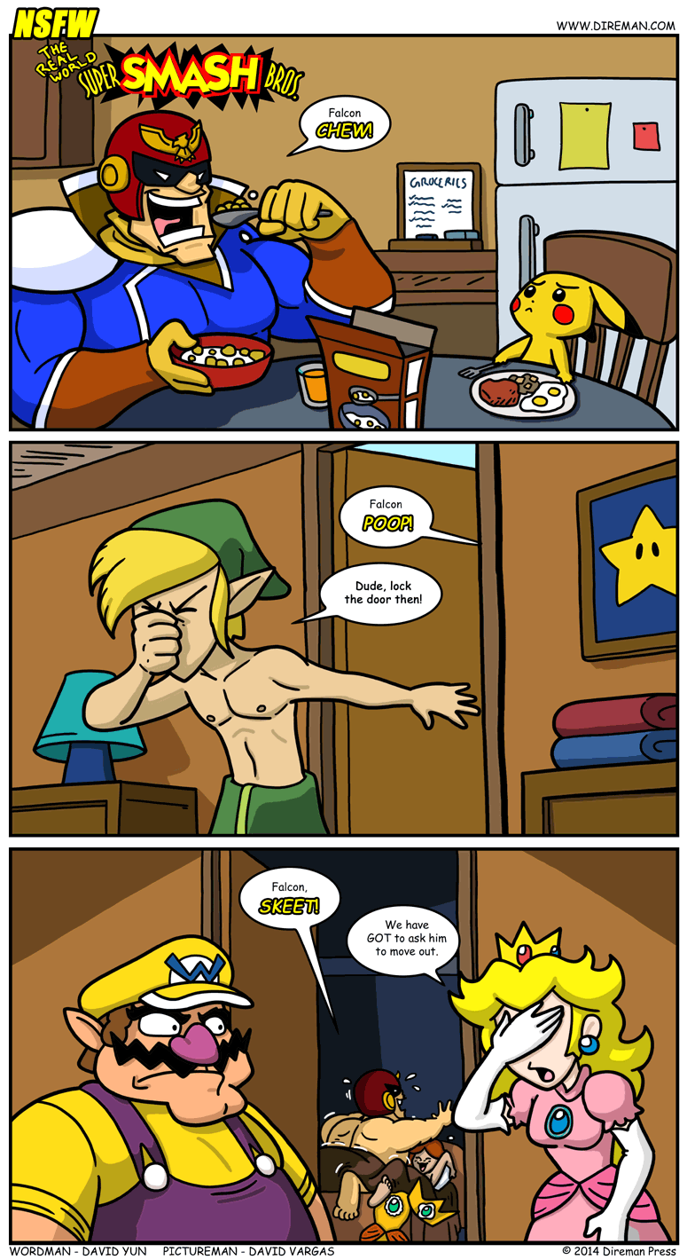 Real World: Super Smash Bros.