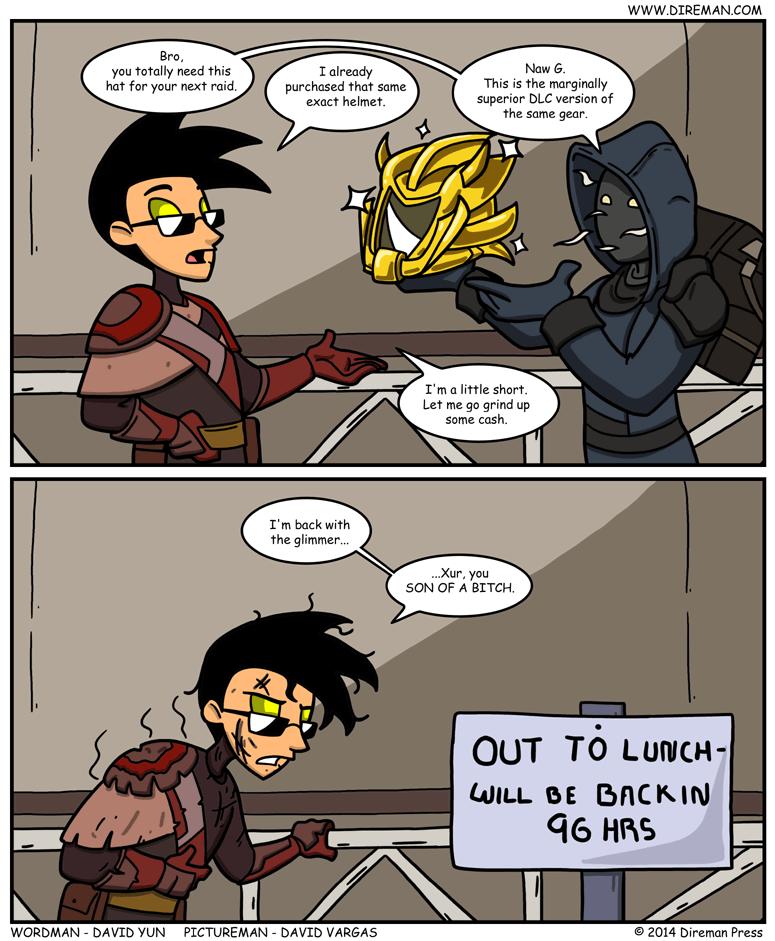Destiny Xur