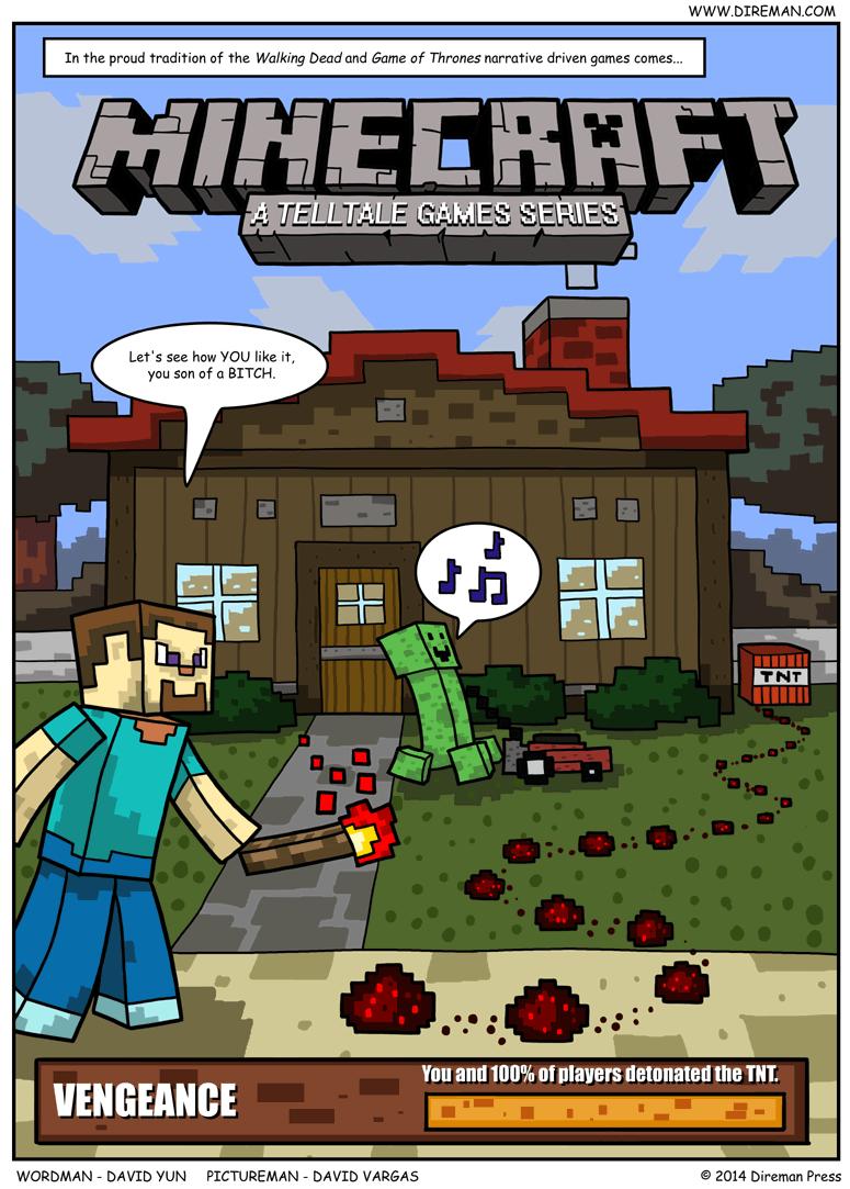 Telltale Minecraft