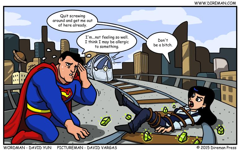 Kryptonite Allergy