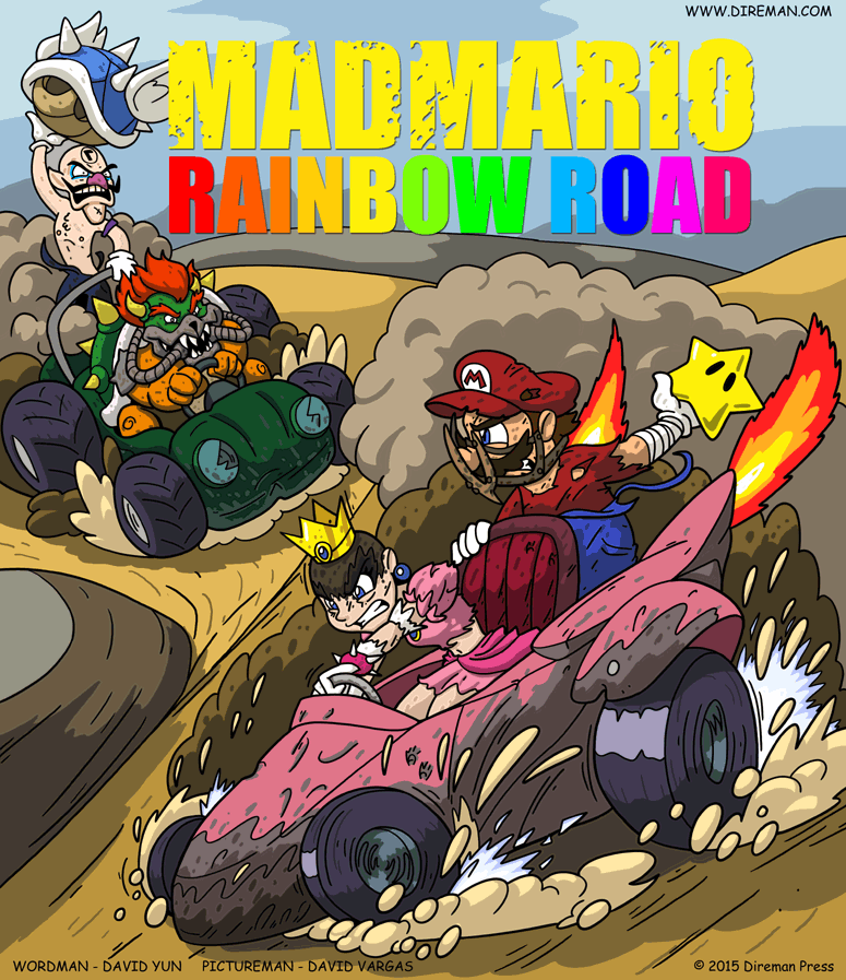 Mad Mario: Rainbow Road