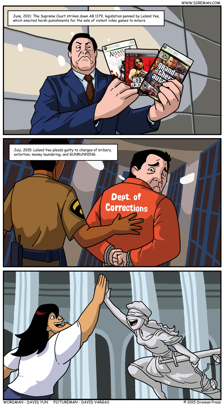 Leland Yee Justice