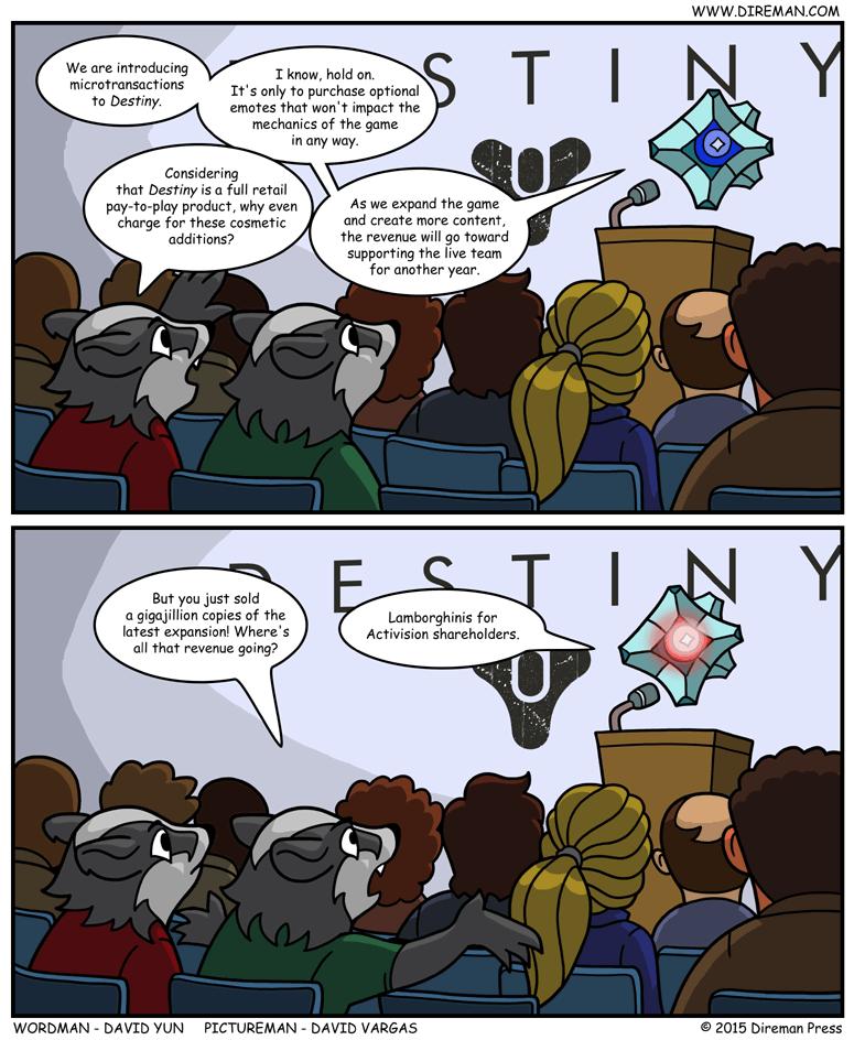 Destiny Microtransactions