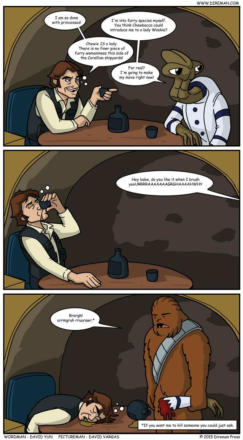 Han Trolls First