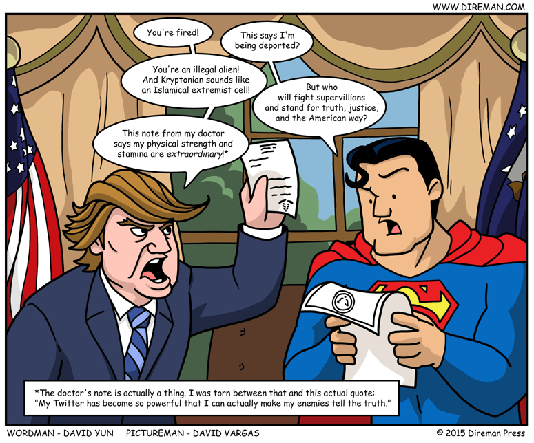 Trump Deports Superman