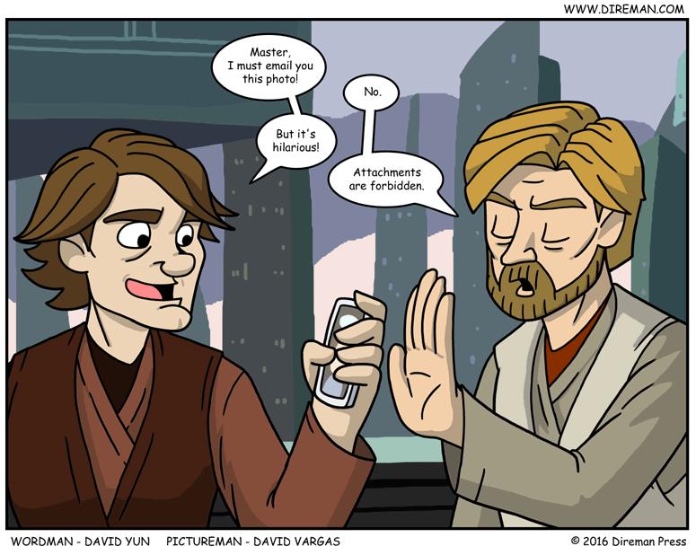 Jedi Mail