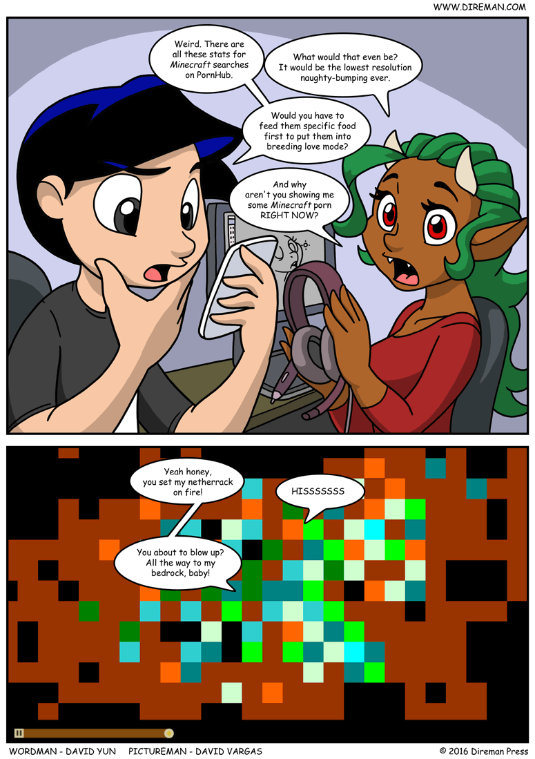 Minecraft Pron