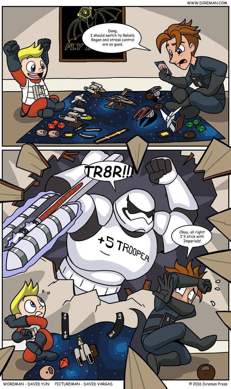 X-Wing TR8R