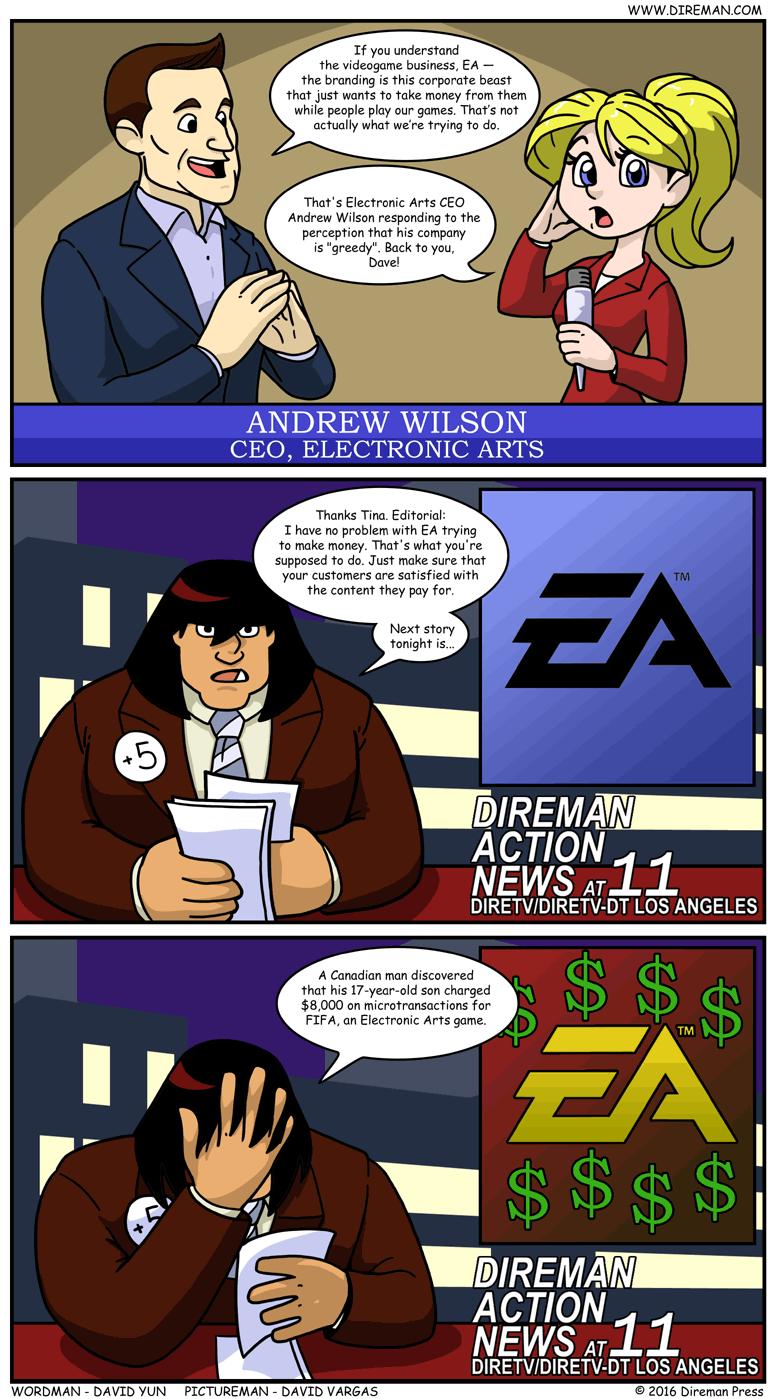 Electronic Arts Greedy
