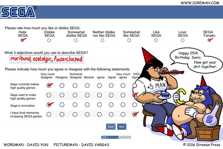 Sega Survey